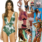 Fashion Women Swimwear One Piece Swimsuit Monokini Push Up Padded Bikini Bathing