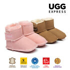 UGG BOOTS - Kids Bootie Cradle - Baby Erin Infant, Australian Sheepskin, No Sole