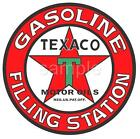 TEXACO Gasoline Filling Station Vinatge Retro WALL DECAL GAS MAN CAVE ROOM MURAL