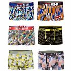 6 PCS  JINSHI Men's underwear soft  boxer briefs