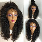 Hot 100% Brazilian Remy Human Hair Sexy Curly Women Lace Front/Full Lace Wigs