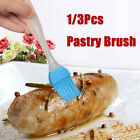 Silicone BBQ Oil Cook Pastry Grill Food Bread Butter Basting Brush Bakeware Tool