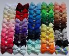 Double Bow Hair Clip or Bobble -3inch (7.5cm). school, party, christmas, dance