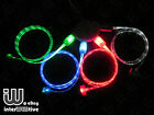 Quality Visible LED Light Up USB Data Charger Cable Cord For iPhone 5 5C 5S IOS7