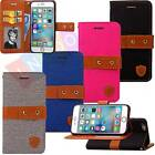 Stand Card Holder Leather Flip Wallet Phone Protect TPU Case Cover For iPhone 6S