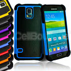 New Hard Shock Back Case Cover For Samsung Phone Galaxy S5 Screen Protector