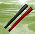 Genuine Leather Stitchback Pistol Putter Grip with Grip Tape, Red or Black