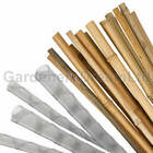 50 100 150 200 250 500 3FT HEAVY DUTY BAMBOO GARDEN CANES + SPIRAL TREE GUARDS