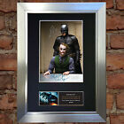 BATMAN AND JOKER No1 Signed Autograph Mounted Reproduction Photo A4 Print 382