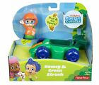 BUBBLE GUPPIES VEHICLE WITH ROLL & GO FIGURE!