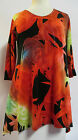 Valentina Tunic TopMulti Colored  Style 7333  Studed Polly NWT  Size Small