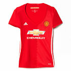 adidas Manchester United 2016/17 Womens Home Jersey Shirt Red