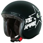 Caberg Freeride Soul Open Face Helmet Matt Black Graphic