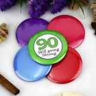 90th Birthday Party Badge - Button Pin Badge