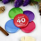 Personalised 40th Birthday Party Badge | Pin Style | 5cm Badge