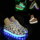 GEE Active Adult LED Light Up Sneaker Low Top Unisex Luminous Lovers Party Shoes