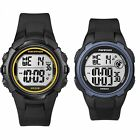 Timex Men's Marathon | Timer Indiglo Alarm Resin Strap | Casual Sports Watch