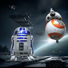 2X COMBO (BB-8 + R2D2) Star Wars The Force Awakens SuperShape Foil Balloon LATEX $7.99 USD