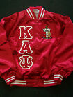 Kappa Alpha Psi Red Satin Retro Old School Baseball Jacke...