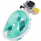 2016 Swimming Full Face Mask Surface Diving Snorkel Scuba for GoPro S /M /L /XL