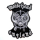 Motorhead Hard Rock Music Band Punk Jeans jacket Shirt Embroidered Iron on patch