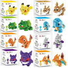 LOZ POKEMON BLOCKS-MONSTER FIGURES - BUILDING MINI TOYS - PIKACHU LEGO-NANO GIFT