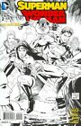 SUPERMAN WONDER WOMAN #2 1ST PRINT VF/NM TONY DANIEL SKETCH VARIANT