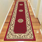 Traditional RUBY Large RUNNERS RUGS / CARPETS 80 x 150 cm FREE POSTAGE
