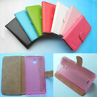For Alcatel Pixi 4 6.0 (4G) (3G) -Wallet Folder Stand Flip PU Leather Case Cover