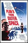 Plan 9 From Outer Space FRIDGE MAGNET 6x8 Ed Wood Movie Posters Canvas Print