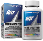 GAT Mens MULTI + TEST Multivitamin & Testosterone Support Pick 60 or 150 Tablets