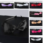 Lady Big Bowknot Ribbon Hair Accessory Headband Bow Head Band Clips