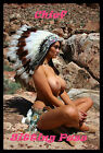 Chief Sitting Puss FRIDGE MAGNET 6x8 Sexy Nude Pin Up Poster Canvas Print