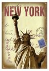 New York Design - A6 Case Bound Hardback Notebook - 80 Double Sided Lined Pages