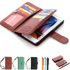 Luxury Leather Flip Magnetic Wallet Card Case Cover For Samsung Galaxy S6 edge +