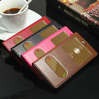 New Genuine Real Cow Leather Flip Phone Case Cover For HUAWEI P9 lite