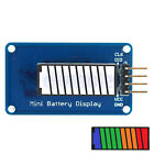 Colour/Green/Red Battery Power LED Bar Display Module 10 Segment For Arduino EW