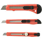 Snap Off Knife   Retractable Utility Blade Adjustable Thumb Lock Box Cutter