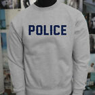 LIVES MATTER PROUD US POLICE BLUE Mens Gray Sweatshirt