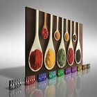 Kitchen Herbs and Spices Canvas Print Large Picture Wall Art
