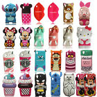 3D Cute Cartoon Soft Silicone Phone Case Back Cover Skin For HTC Desire 626