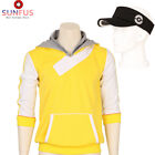 Pokemon Go Trainer Figure Yellow Hoodie Team Mystic Instinct Valor Costume