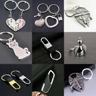 Cat Star Wars Love Heart Pendant Key Chain Silver Keychain Jewelry Charm Gifts $1.22 CAD