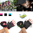 Work Out Gloves Women Men Weight Lifting Gym Sport Exercise Training Half Finger