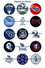 """TENNESSEE TITANS 1 """" CIRCLES  BOTTLE CAP IMAGES. $2.45-$5.50 ***FREE SHIPPING*** $4.45 USD on eBay"""