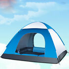 Pop Up Automatic 3-4 Person Tent Outdoor Camping & Hiking Instant Family Tent