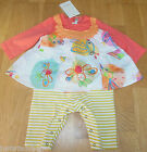 Catimini baby girl dress playsuit outfit 0-3 m BNWT New designer