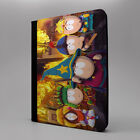 Animated Cartoon iPad PC Leather Flip Case Cover - South Park - S-T0188