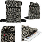 "trio stealth 4.0 - Fashion Womens Tablet 10"" Paisley Backpack Bag w/ Extra Pocket BG10PS-1"