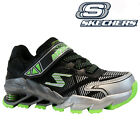 NEW SKECHERS BOYS KIDS MEGA FLEX SHOCK RUNNING SCHOOL SPORTS SHOES TRAINERS SIZE